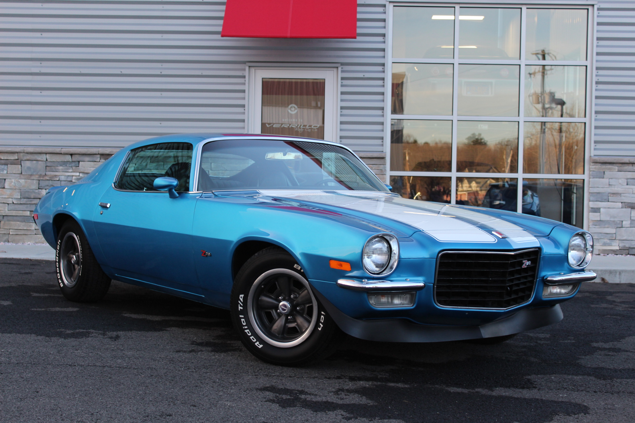 VMC Camaro featured in Motorious Muscle Car Auction